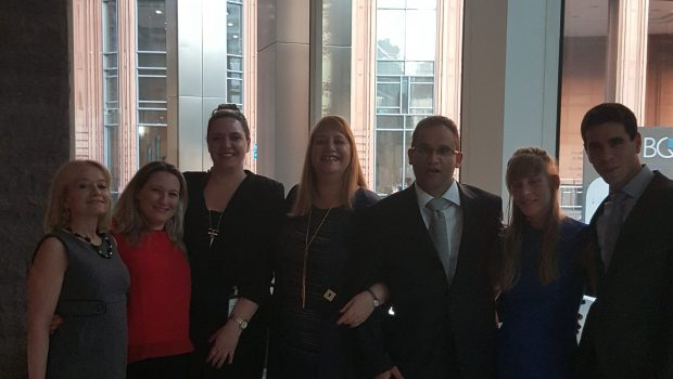 """שישה נציגים מענף הביטוח השתתפו בסמינר בלונדון במסגרת מלגת """"לוידס"""" ע""""ש יונתן גרוס ז""""ל"""