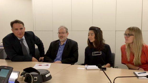 """ד""""ר גיא רוטקופף חידש את הקשר עם ארגון ה-OECD"""
