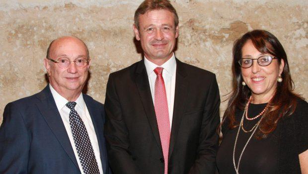 גדעון המבורגר והמשכן לבוררות ופתרון סכסוכים אירחו את ראשי המוסד השוויצרי הבינלאומי לבוררות