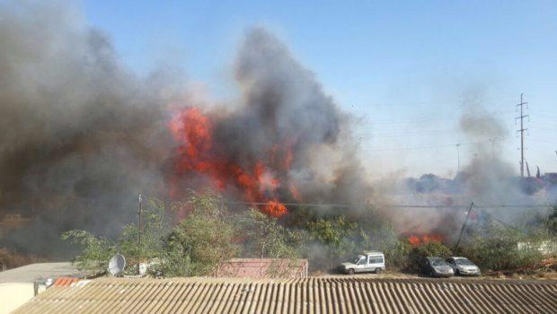 רשות המסים הכירה ב-9 מוקדי שריפה שנגרמו כתוצאה מהצתות מכוונות