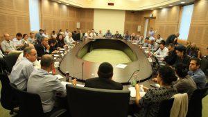 דיון בוועדת הכספים