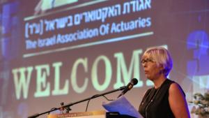 נעמה חשמונאי, נשיאת אגודת האקטוארים בישראל