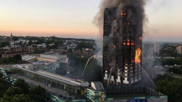 ייצוגית נגד יצרן החיפוי של הבניין שעלה באש בלונדון