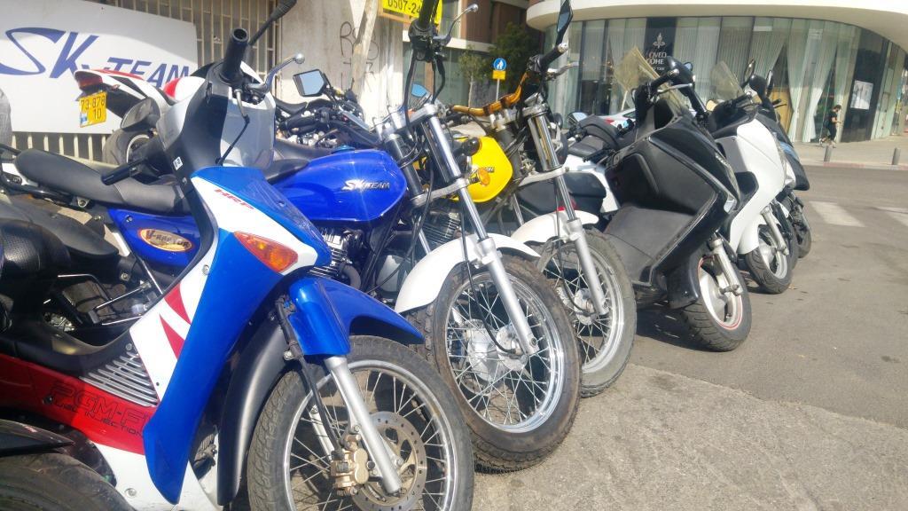 אושר סופית: מרכיב ההעמסה בביטוח אופנועים יעלה מ-6.5% ל-8.5%