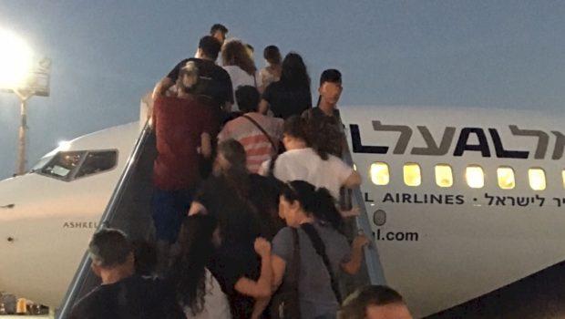 משלחת החילוץ של הראל ו-PassportCard הטיסה הביתה 145 ישראלים