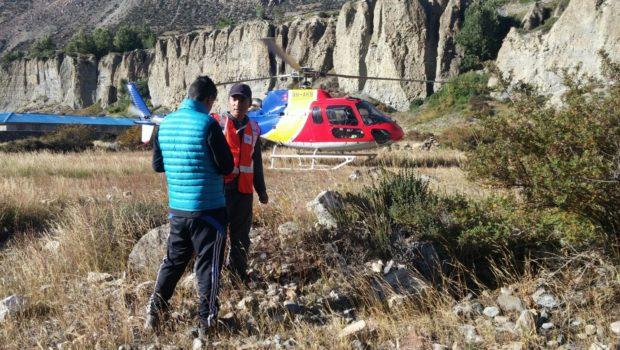 צוות החילוץ של הפניקס חילץ מטיילת מנפאל שנמצאה בסכנת חיים