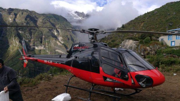 חילוץ דרמטי בנפאל: הפניקס חילצה מטייל בין 52 שנפצע בטיפוס על האוורסט