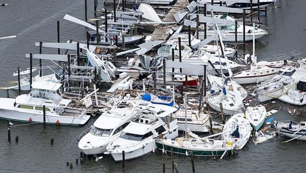 ההוריקנים הרווי ואירמה פגעו ב-63 אלף ספינות נופש