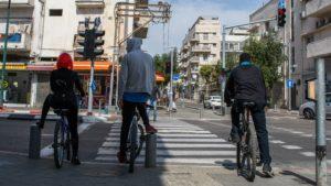 אופניים דו גלגלי תל אביב. צילום: נעמן פרנקל