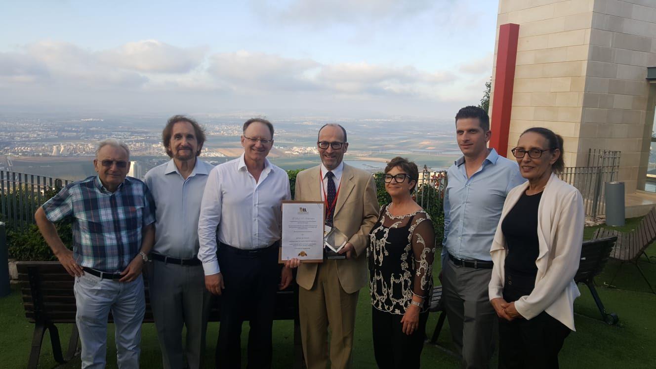 פרופ' סטיב הברמן קיבל תואר לשם כבוד מאוניברסיטת חיפה