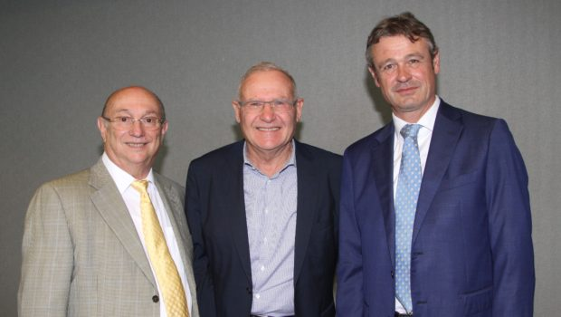 עמוס ידלין, ראש המכון למחקרי ביטחון לאומי, התארח במפגש של גדעון המבורגר ולשכת המסחר ישראל-שוויץ וליכטנשטיין