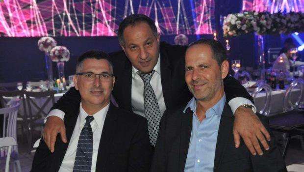 הצמרת הפוליטית והכלכלית של ישראל נפגשה בחתונת בתו של סוכן הביטוח עזרא גבאי