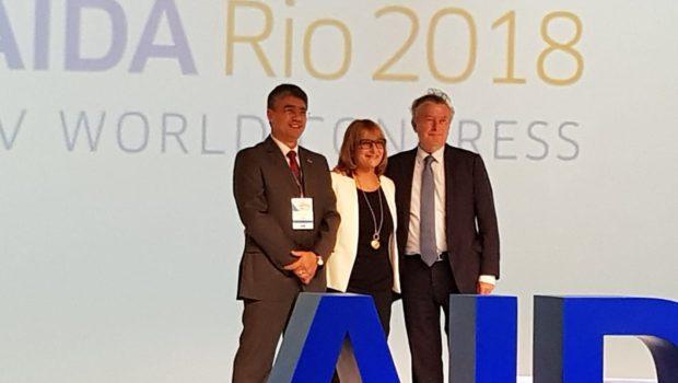 """עו""""ד פגי שרון נבחרה לשמש כנשיאת AIDA העולמי"""
