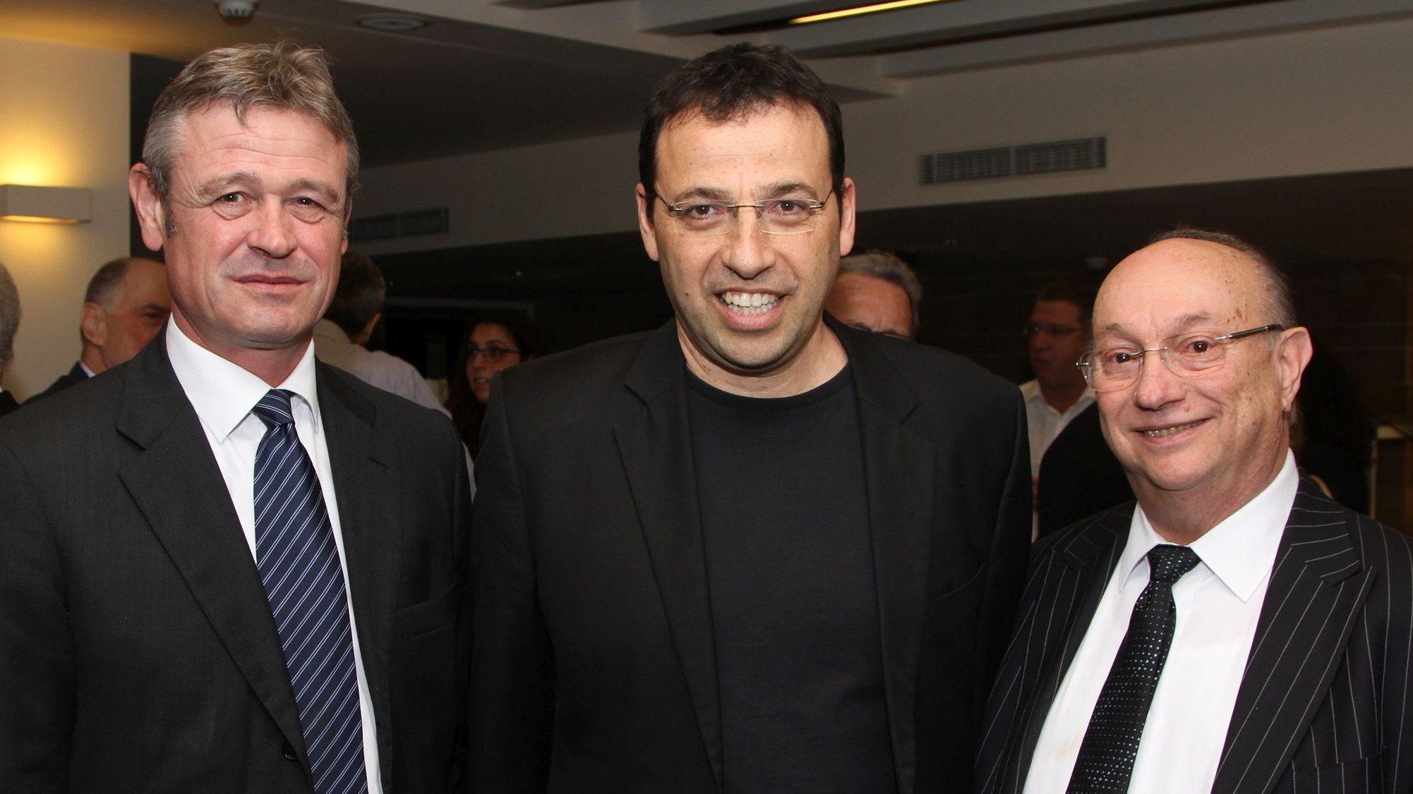 רביב דרוקר התארח במפגש צהריים של גדעון המבורגר ולשכת המסחר ישראל-שוויץ וליכטנשטיין