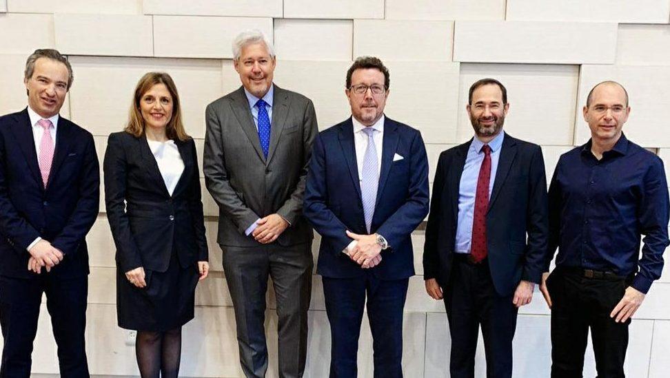 הנהלת סוויס רי אירופה ביקרה במגדל: סוכם מתווה שיתוף הפעולה לשנת 2019