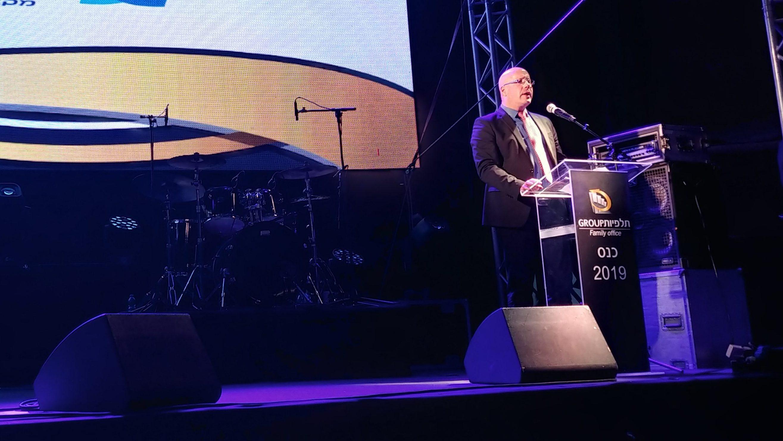 ליאור רוזנפלד, נשיא הלשכה, בכנס תלפיות: שינוי תעריפי הריסק לא יפגע בסוכני הביטוח