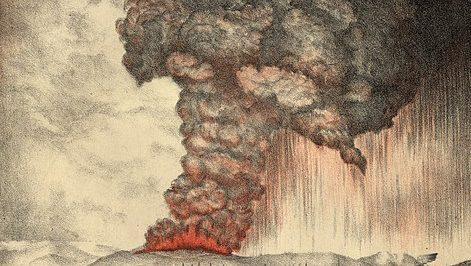 נמשכת הפעילות הגעשית של הר הגעש האינדונזי / מאת ישראל גלעד