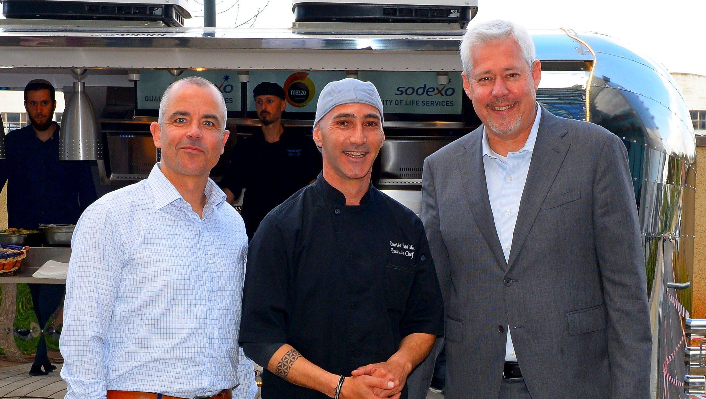 חברת Sodexo On-Site ערכה בבית מגדל אירוע בהשתתפות השף צ'רלי פדידה