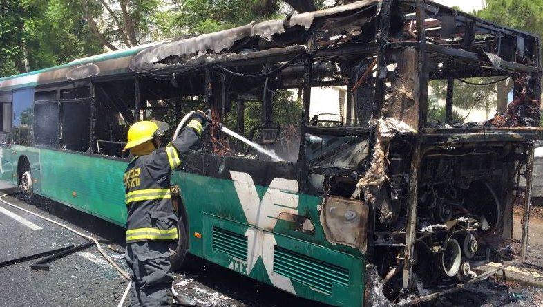 כל יומיים נשרף אוטובוס