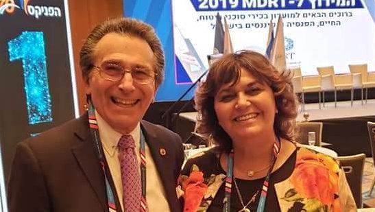 """חוה פרידמן וינרב, יו""""ר המכללה לביטוח, בפאנל בכנס MDRT: שיתוף פעולה בין סוכנים טוב ללקוח, לסוכן ולחברות הביטוח"""