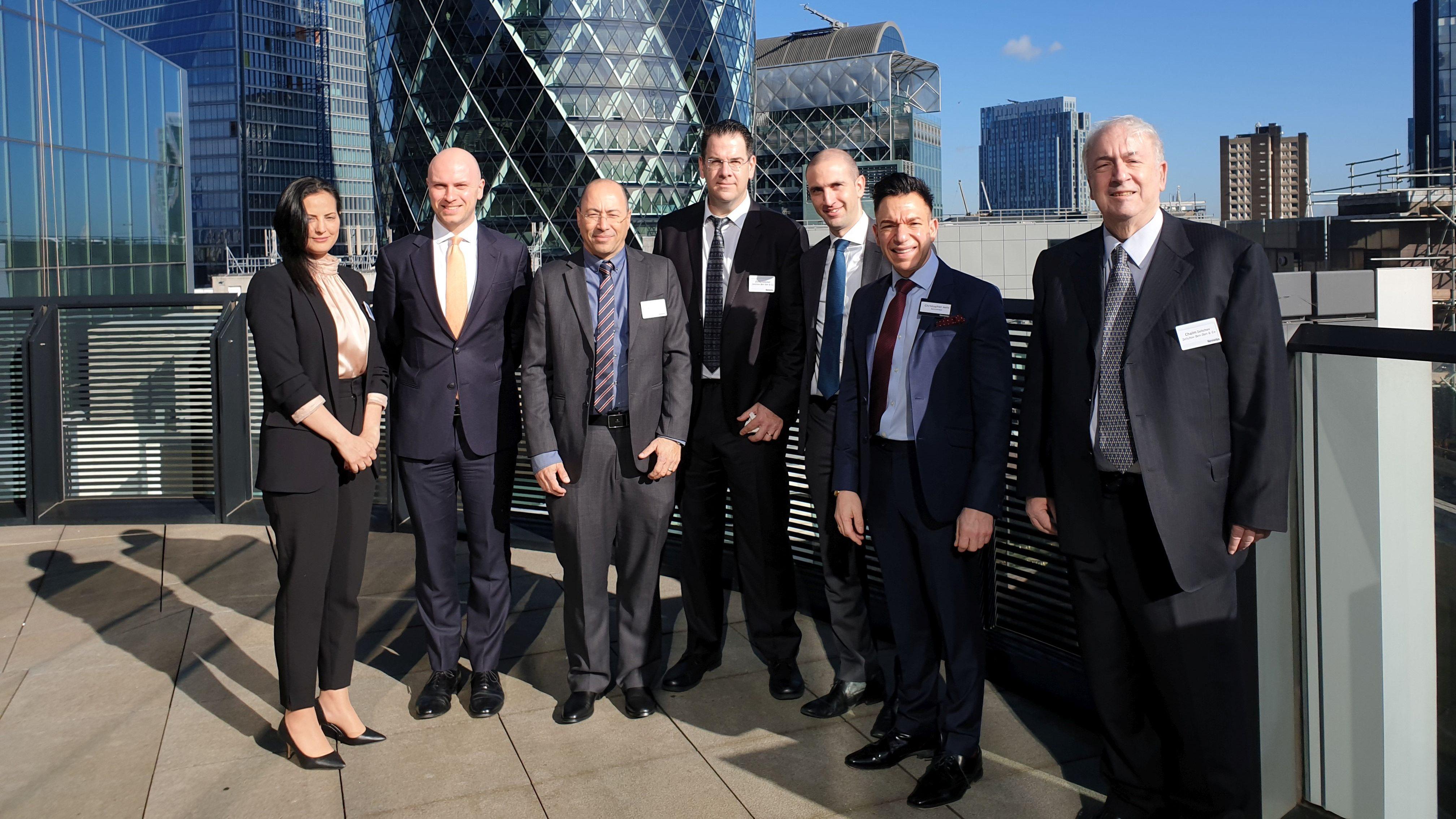 זליכוב, בן-דן ושות' ומשרד Kennedys ערכו יום עיון ראשון לשוק הביטוח בלונדון