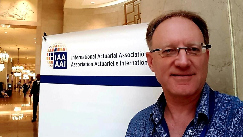 עופר ברנדט ייצג את ישראל בכנס השנתי של ארגון האקטוארים הבין-לאומי בוושינגטון