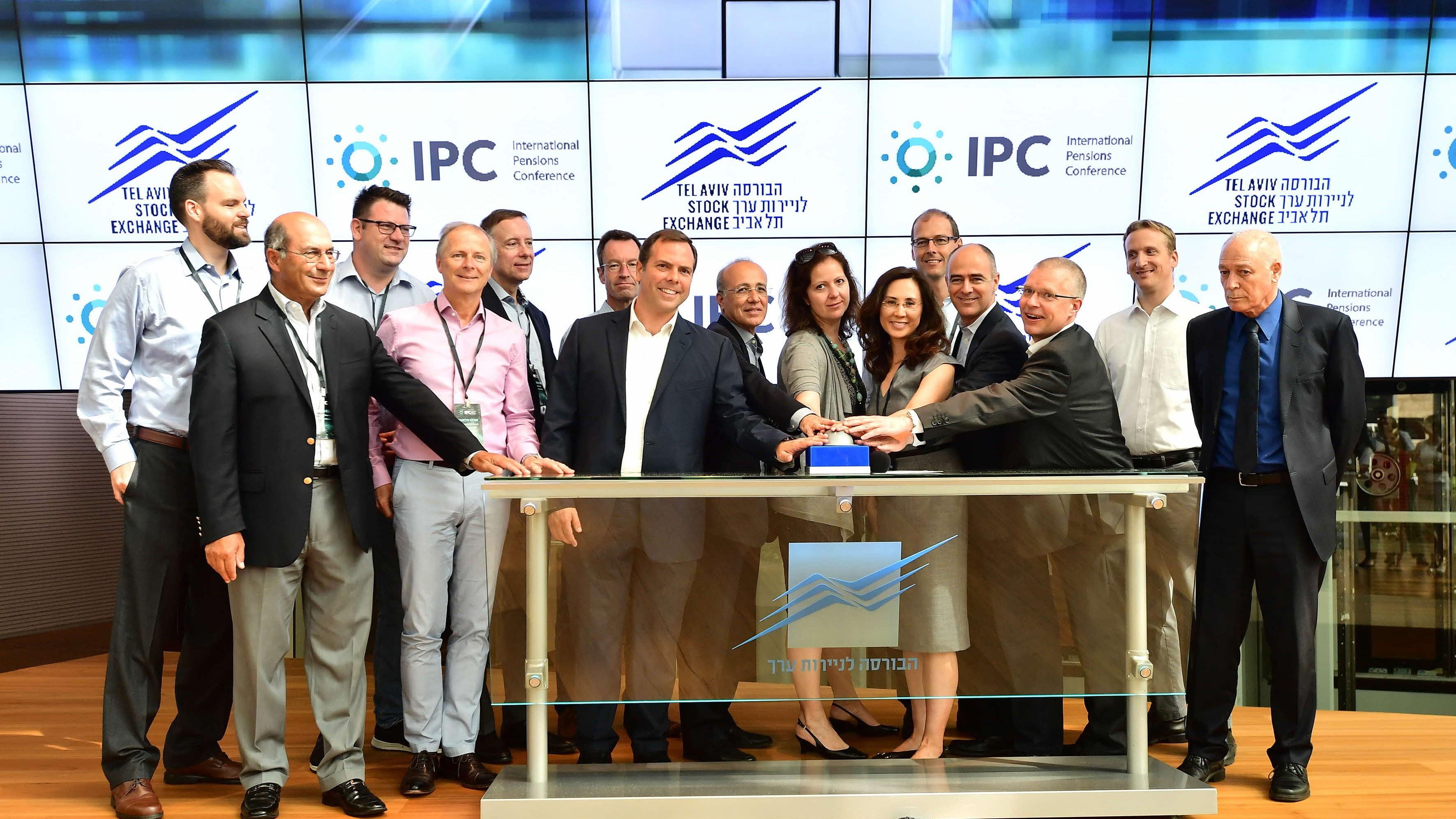 חברי ארגון קרנות הפנסיה הבינלאומי עורכים את הכנס השנתי שלהם בישראל