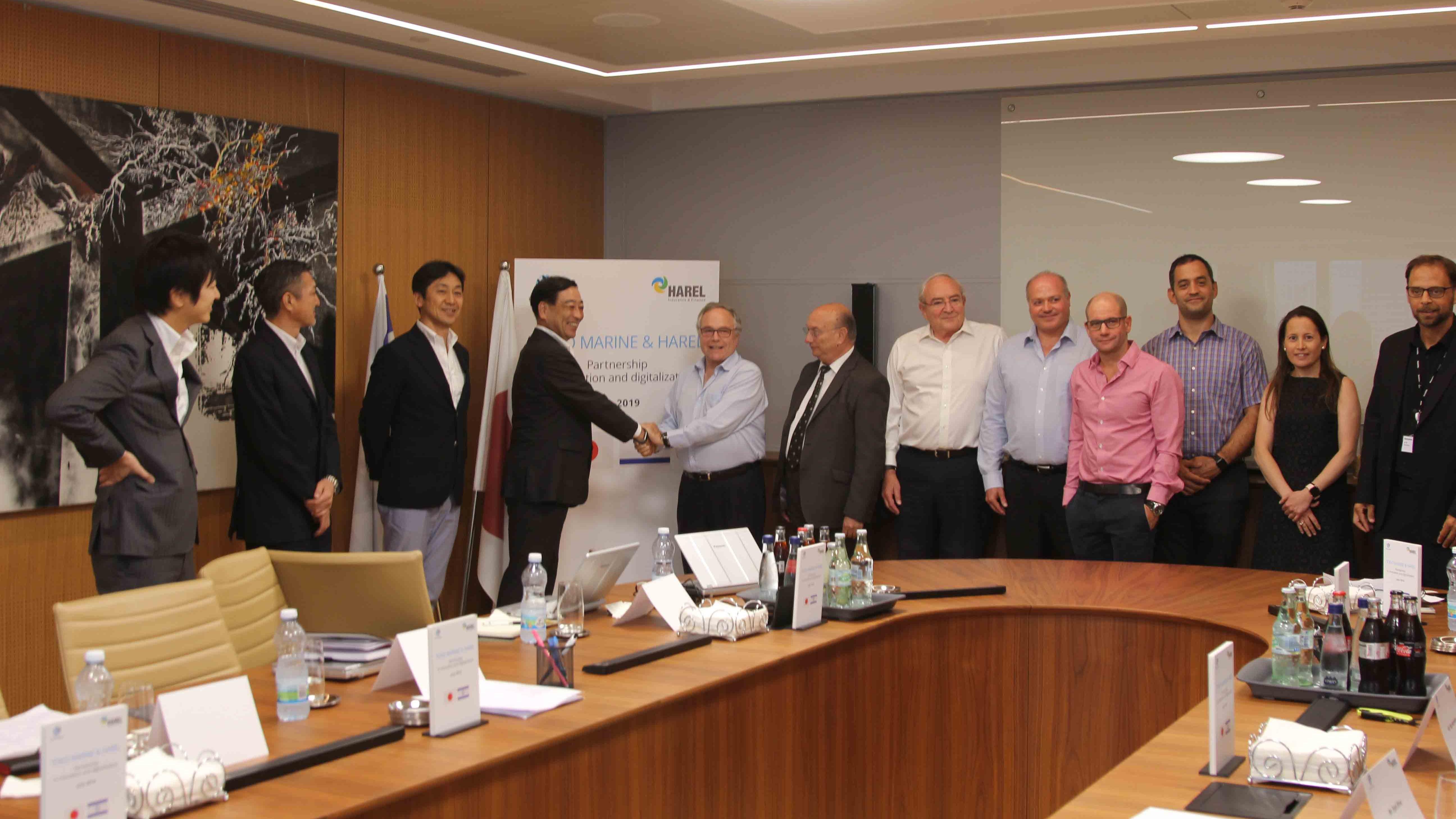 הראל ותאגיד הביטוח הגדול ביותר ביפן ישתפו פעולה בישראל בחיפוש אחר חדשנות והשקעות טכנולוגיות