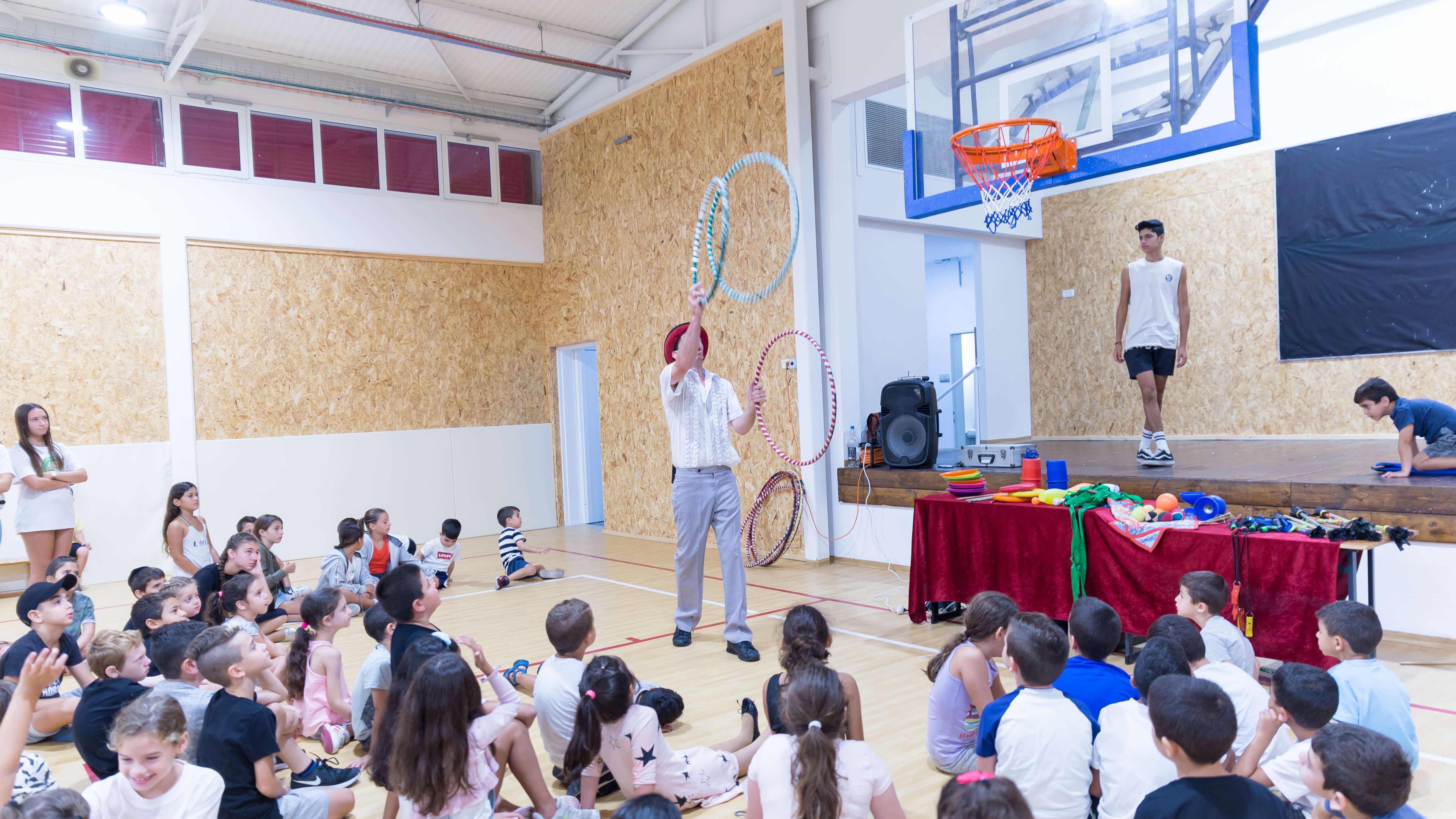 הכשרה ארגנה קייטנה עם מגוון פעילויות לילדי העובדים