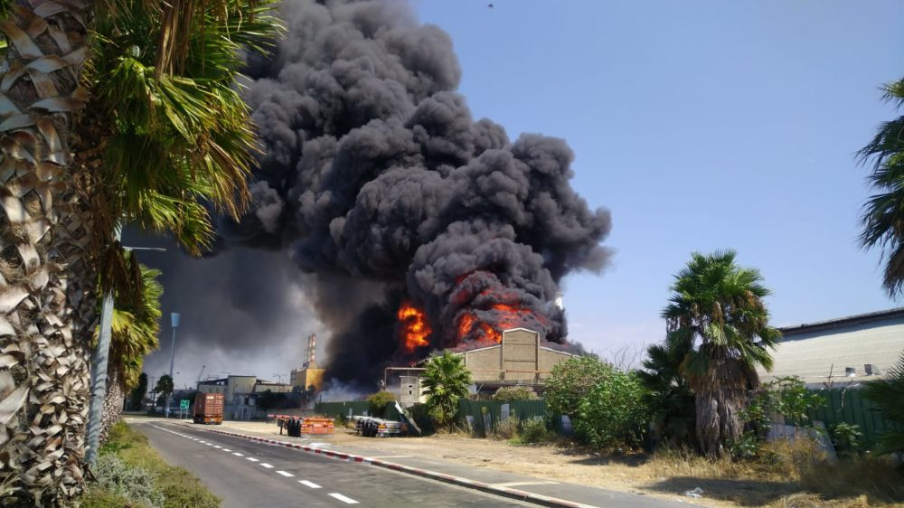 השריפה בשמן: המבטחת – כלל ביטוח באמצעות בטח-תורן