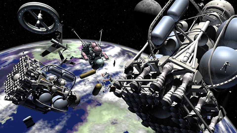 החלל – מקום צפוף עם סיכונים גדלים והולכים / מאת ישראל גלעד