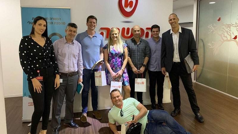 הכשרה אירחה משלחת של בכירים מדרום אפריקה העוסקים בתחום הביטוח
