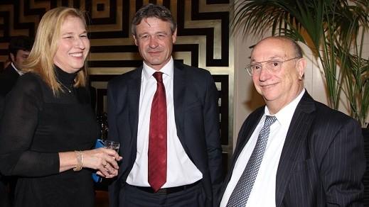 השרה לשעבר ציפי ליבני, התארחה במפגש של גדעון המבורגר ולשכת המסחר ישראל-שוויץ וליכטנשטיין