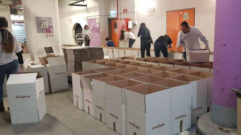 קרן החסד של הכשרה תחלק מאות סלי מזון לנזקקים לקראת חג הפסח