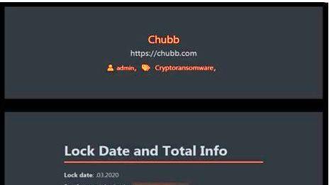 המבטח הבינלאומי Chubb נפגע על ידי כופרה