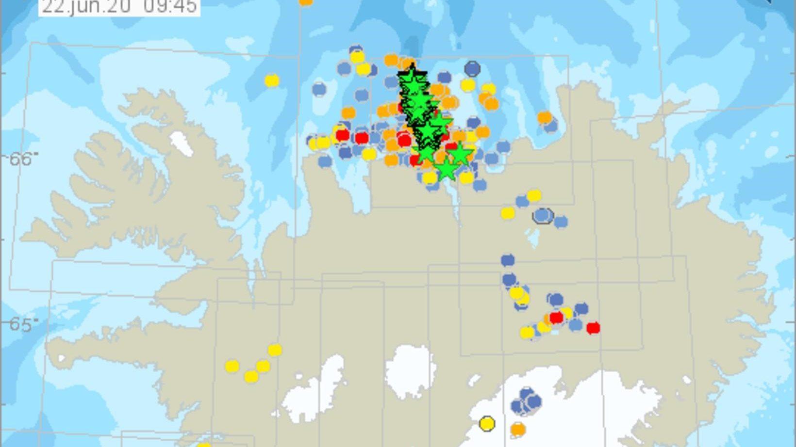 איסלנד: יותר מ-9,000 רעידות אדמה ב-10 ימים