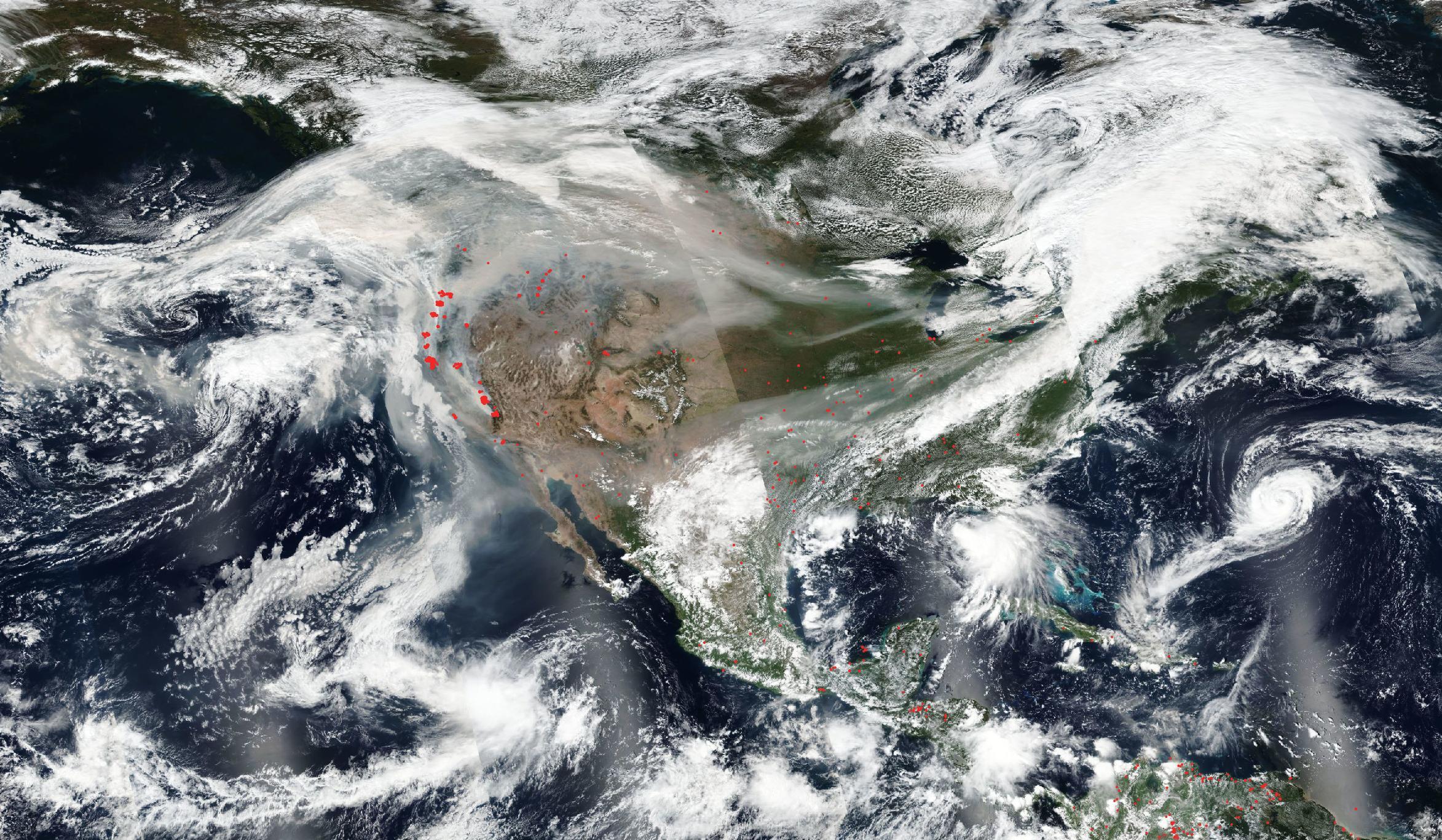 """השריפות בארה""""ב במגמת גידול מדאיגה"""