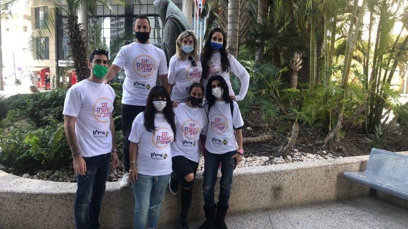 חודש המעשים הטובים באיילון: עובדי איילון יצאו לפעילות התנדבותית שכללה צביעה, גינון ושיפור נראות מעון לילדים על הרצף האוטיסטי