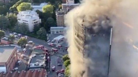 ביטוח בינלאומי/ ישראל גלעד: בנין במילנו עלה בלהבות עקב חיפוי דליק